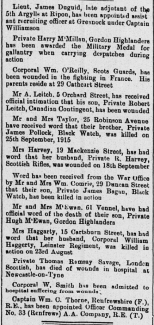 Hugh McEwan death