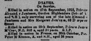 James McCrae Death