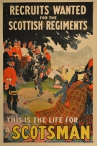 Recruits Wanted for Scottish Regiments