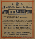 War Savings Certificate