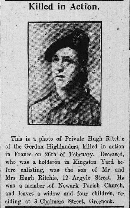 Hugh Ritchie (Gordons)