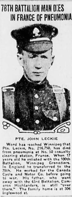 John McNiven Leckie
